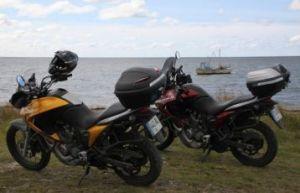 Mit Motorrad durch das Baltikum