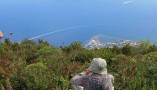 Vulkaninseln unter sizilianischer Sonne