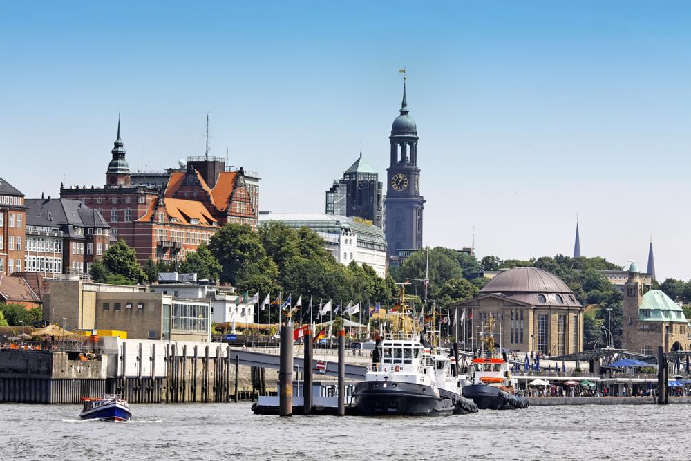 Hamburg Elbe Top 10 - Die schönsten Städte Deutschlands