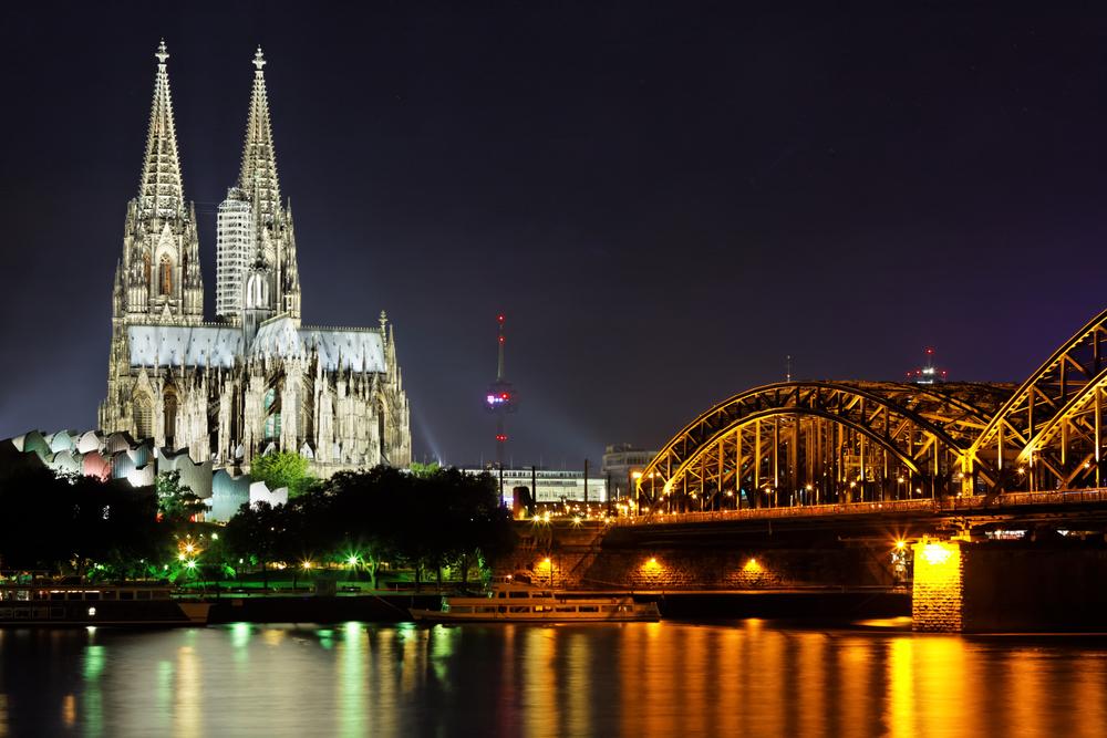 Köln Dom Rhein Top 10 - Die schönsten Städte Deutschlands