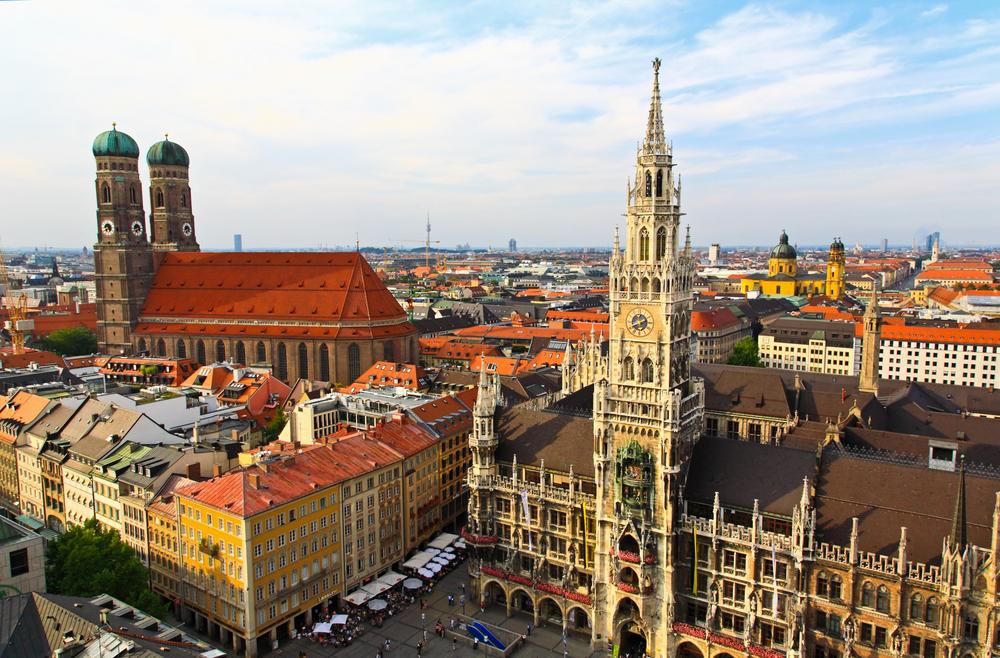 München Rathaus Frauenkirche Top 10 - Die schönsten Städte Deutschlands