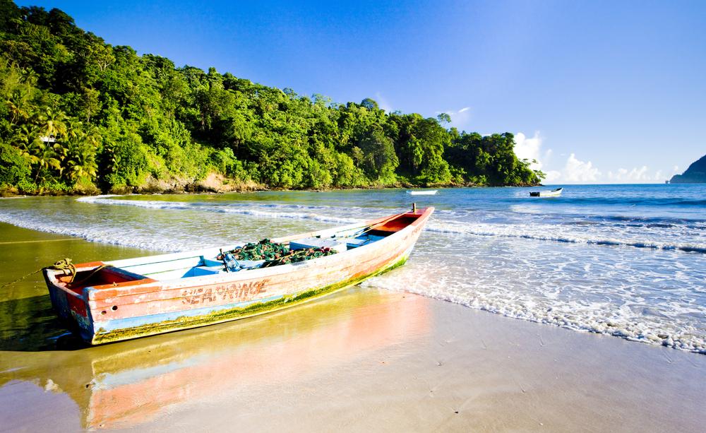 Trinidad Boot am Meer, Tripodo.de