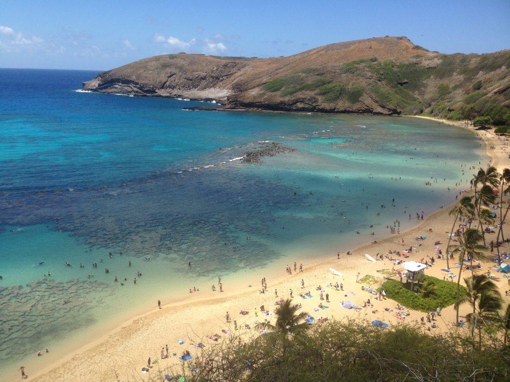 Hanauma Bay Oahu Beach