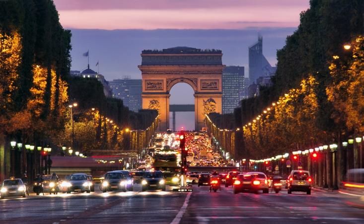 Champs Elysées, Paris, Tripodo.de