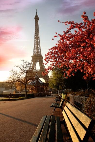 Paris, Eiffelturm, Tripodo