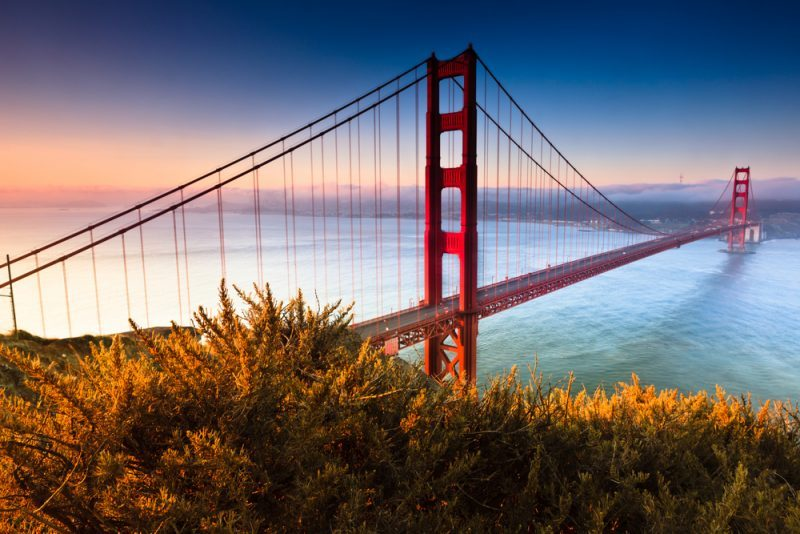 golden gate bridge, tripodo, usa, san fransisco, architektonische Meisterwerke
