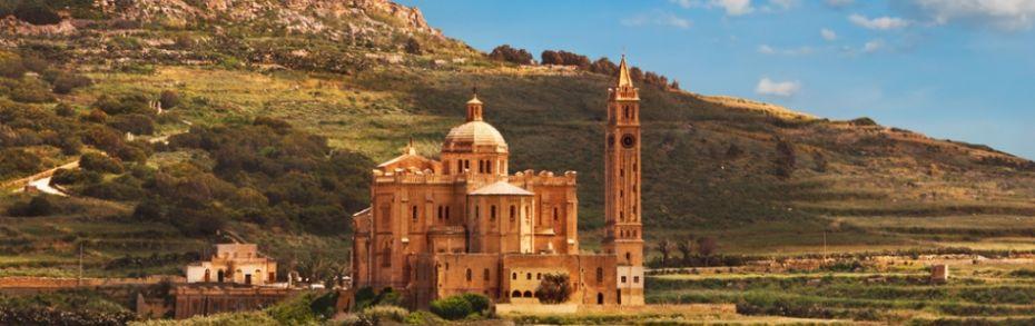 Basilika ta' Pinu auf Gozo