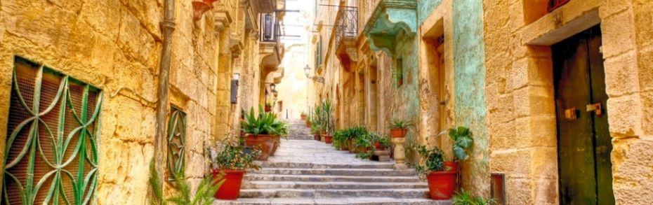 Altstadtgasse in Valletta