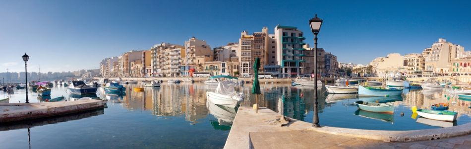 Hafenstädtchen auf Malta