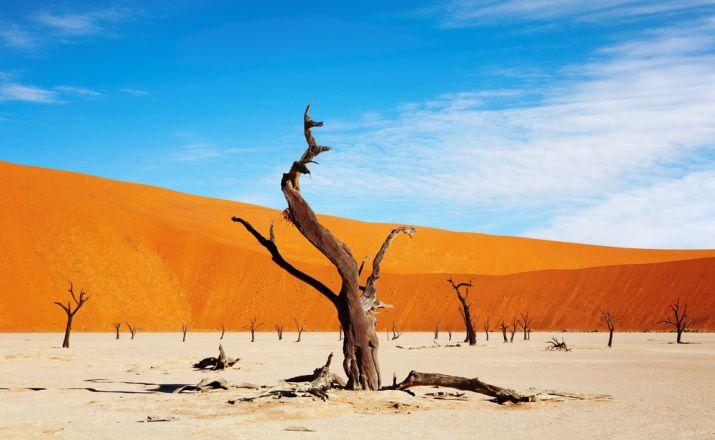 Namibias endlose Weiten mit dem Flugtaxi World geographic 1