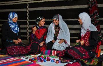 Beduinenfrauen
