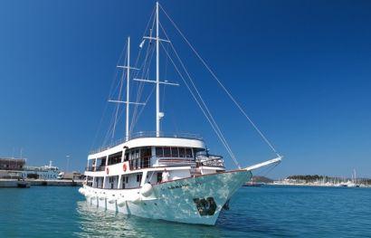 Kreuzfahrt auf Motorsegler Route KL5 Kategorie A ab Dubrovnik