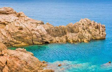 Kristallklares Wasser Sardinien