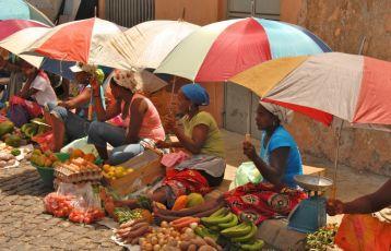 Marktfrauen in Assomada - Santiago