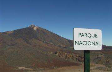 Fantastischer Blick von den Canadas in den Nationalpark El Teide.