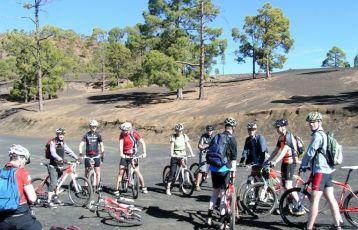 Unsere Mountainbikegruppe