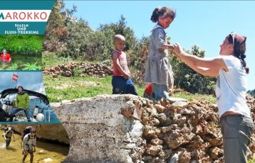 MarokkoHoch3: Segeln.Trekken.Entdecken. Flusstrekking-Tour