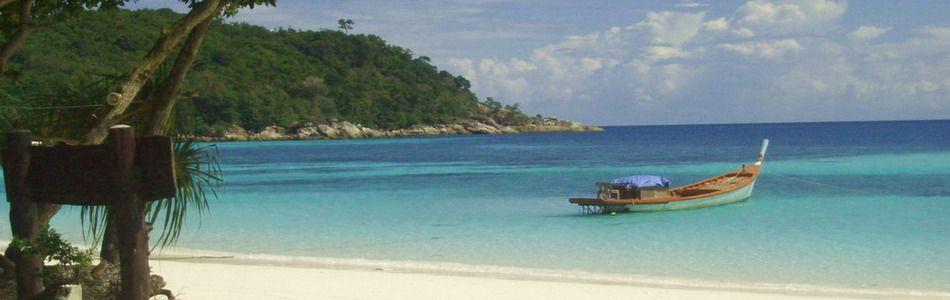 Strand auf Koh Lipe