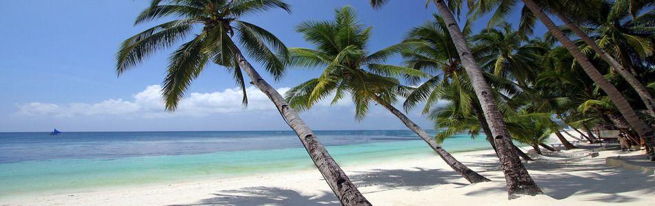 Strand auf Boracay