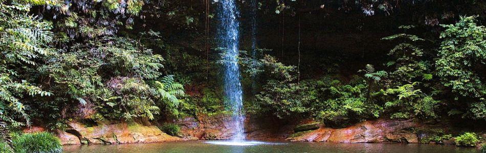 Wasserfall im Taman Negara Nationalpark