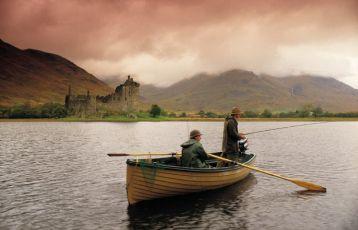 Loch Awe mit Kilchurn Castle