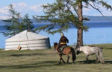 Mongolei Khovsgol See
