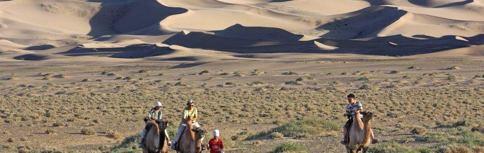Mongolei - Reiten durch die Wüste Gobi