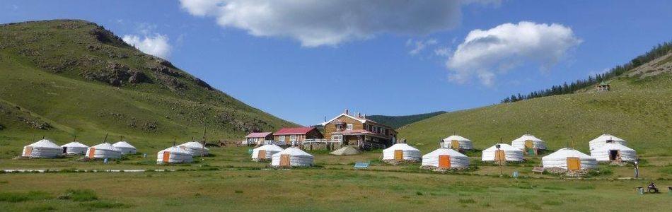 Mongolei - Übernachtungen in Jurtencamps