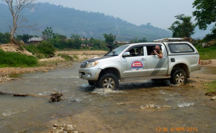 12 tägige große Thailand-Laos bis China Expedition Four Wheel Travel 1