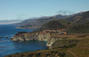 Einer der schönsten Küstenstraßen der Welt, der Highway Number 1.