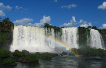 definitiv ein Highlight - die Wasserfälle von Iguazú