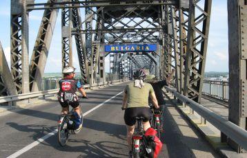 Bulgarien-Radreise-Donaubrücke
