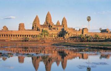 Angkor Wat in Siem Reap, Kambodscha