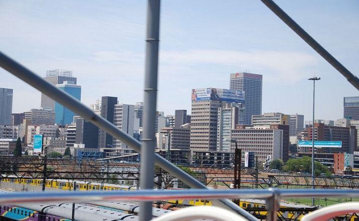 Baustein Johannesburg Südafrika wie ich es mag 1