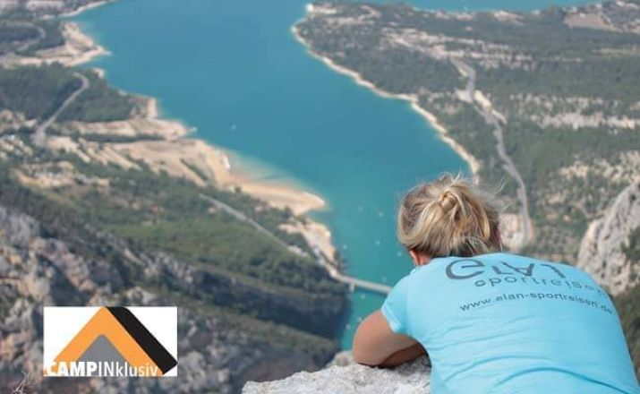 Familien Abenteuercamp Provence elan sportreisen 1