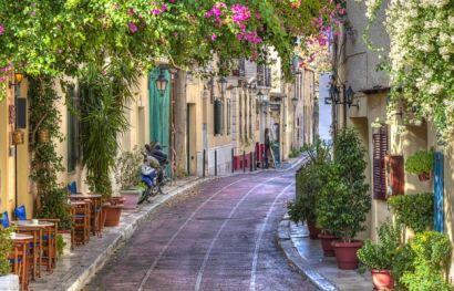 Romantisches Wochenende in Athen