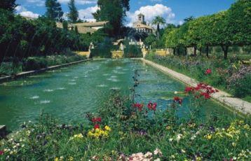 Córdoba Alcázar Garten