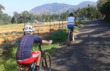 Mit dem Fahrrad durch Kerala