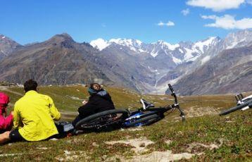 Fahrradtour im Himalaya