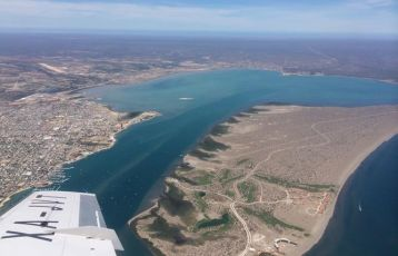 Die Bucht von La Paz