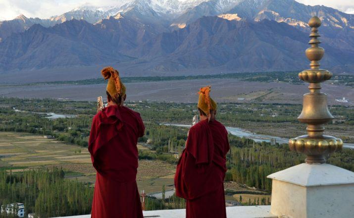 Mönche in Ladakh