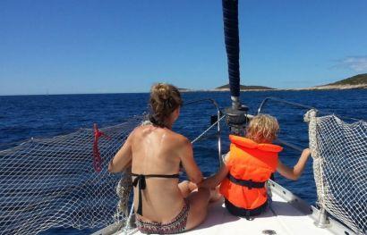 Familien-Segeltörn: Segeln bei Korfu für Kinder und die ganze Familie