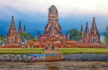 Ayutthaya Wat Chaiwatthanaram Tag 1