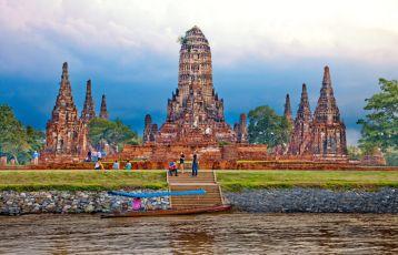 Wat Chai Wattanaram Tag 1