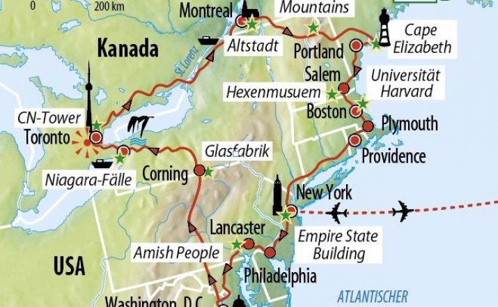 Rundreise USA und Kanada - Höhepunkte der Ostküste PB Reisen - Designed to Travel! 1