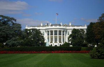 Das Herz der Macht: Das Weiße Haus in Washington.