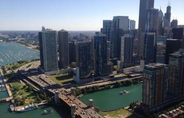 Nicht New York, sondern Chicago gilt als Geburtsort der modernden Architektur.