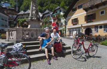 Pause in Hallstatt