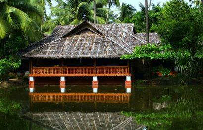 Ayurveda Kur - Kadappuram Beach Resort, Nattika, Kerala, Indien