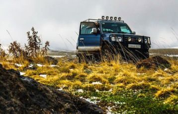 Jeep in Armenien